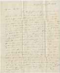 Orra White Hitchcock letter to Deborah Fiske, 1834 May 9