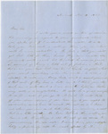 Orra White Hitchcock letter to Edward Hitchcock, Jr., 1850 November 18
