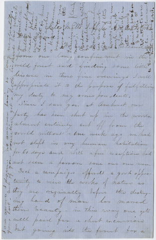 Letter from unidentified correspondent to Orra White Hitchcock, 1852 October 30