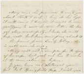 Orra White Hitchcock letter to Edward Hitchcock, Jr.