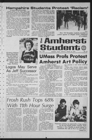 Amherst Student, 1975 March 10