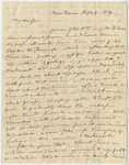 Benjamin Silliman letter to Edward Hitchcock, 1829 February 9