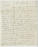 Benjamin Silliman letter to Edward Hitchcock, 1830 March 11