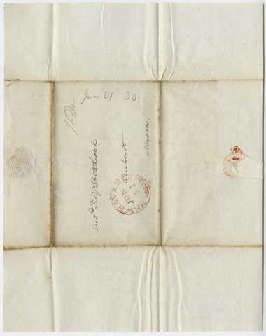 Benjamin Silliman letter to Edward Hitchcock, 1830 June 21