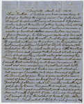 Charles Hitchcock letter to Edward Hitchcock, 1858 March 22