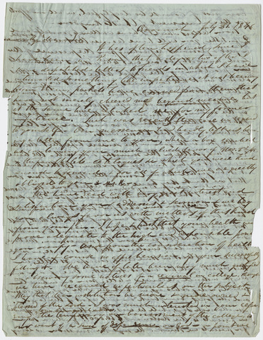 Justin Perkins letter to Edward Hitchcock, 1846 July 23