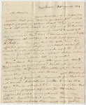 Benjamin Silliman letter to Edward Hitchcock, 1821 February 14