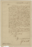 Jeffery Amherst letter to Colonel William Byrd, 1761 December 3