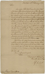 Jeffery Amherst letter to Lieutenant Governor James Hamilton, 1760 February 21
