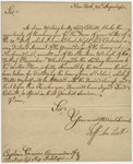 Jeffery Amherst letter to Captain Thomas Graves, 1762 August 30