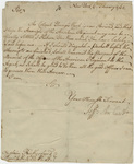 Jeffery Amherst letter to Captain Rutherford, 1761 February 6