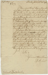 Jeffery Amherst letter to Colonel John Bradstreet, 1761 October 4