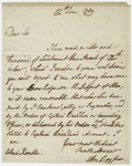 Jeffery Amherst letter to Colonel Kemble, 1789 June 15