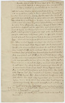 Grant of land to Jeffery Amherst from the Colony of New York, 1774 January 8