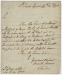 Jeffery Amherst letter to George Yonge, 1793 January 15