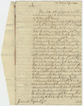 Jeffery Amherst letter to Jeremiah Dyson, 1763 April 12