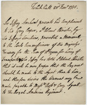 Jeffery Amherst letter to Sir Grey Cooper, 1775 November 23
