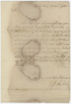 Jeffery Amherst letter to Colonel John Bradstreet, 1763 September 3
