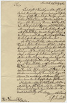 Jeffery Amherst letter to Thomas Hancock, 1763 July 24