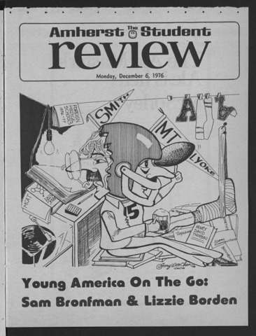 Amherst Student Review, 1976 December 6