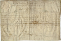 Military commission of John Christopher, 1760 September 18