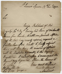 Jeffery Amherst letter to Sir George Yonge, 1792 January 12