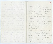 Emily Dickinson letter to James D. Clark