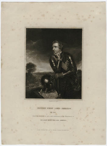 Portrait of Jeffery, First Lord Amherst