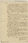 Jeffery Amherst letter to Thomas Hancock, 1761 March 2