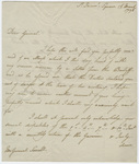 Jeffery Amherst letter to Major General John Small, 1796 March 16