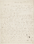 Edward Hitchcock letter to unidentified recipient, 1857 August 10