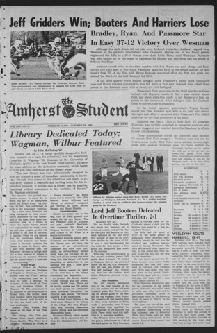 Amherst Student, 1965 October 24