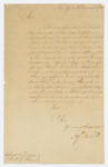 Jeffery Amherst letter to Colonel John Bradstreet, 1762 December 4