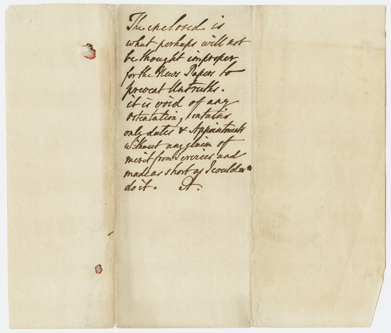 Jeffery Amherst note