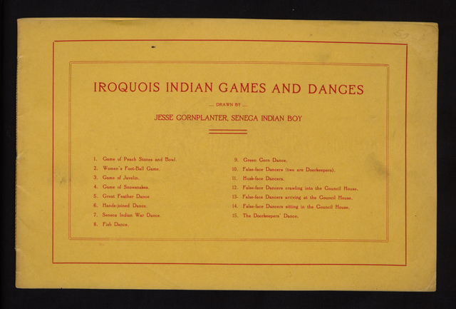 Iroquois Indian games and dances