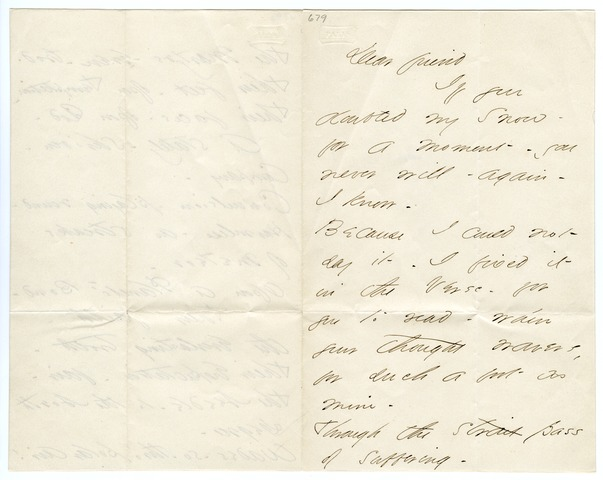 Emily Dickinson letter to Samuel Bowles