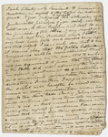 Edward Hitchcock lecture notes on liquor trafficking, 1837