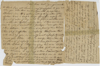 Edward Hitchcock notes on friendship and death