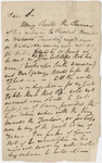 William Wordsworth letter to Robert Southey, 1815 March