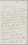 William Wordsworth letter to William Jackson, [1846] April 28
