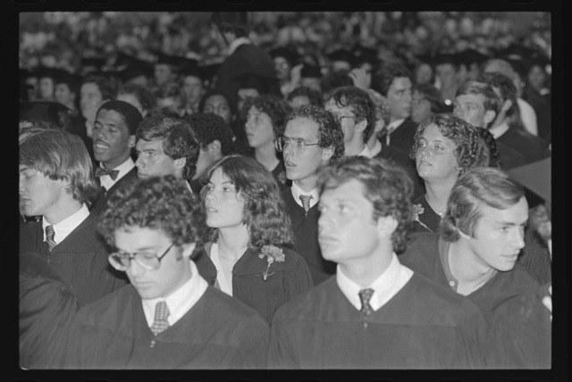 Photographs of the 160th Commencement Weekend, 1981 May 30-31