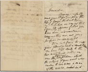 William Wordsworth letter to unidentified recipient, 1846 March 23