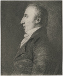 William Wordsworth, head and shoulders portrait, facing left