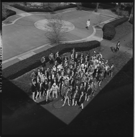 Photographs of the freshman class, 1966 April 28