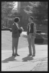 Photographs of campus scenes in spring, 1987 April