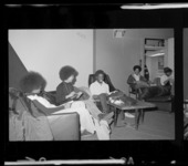 Photographs of students on campus, 1972 November 1