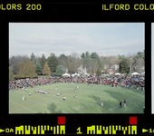 Photographs of Homecoming football game versus Williams College, 1998 November 14