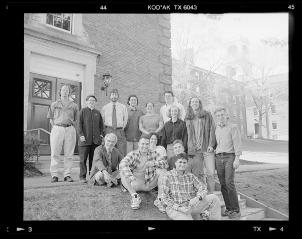 Photographs of Law, Jurisprudence, and Social Thought senior group, 1997 May