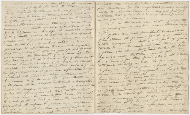 Edward Hitchcock sermon no. 177,