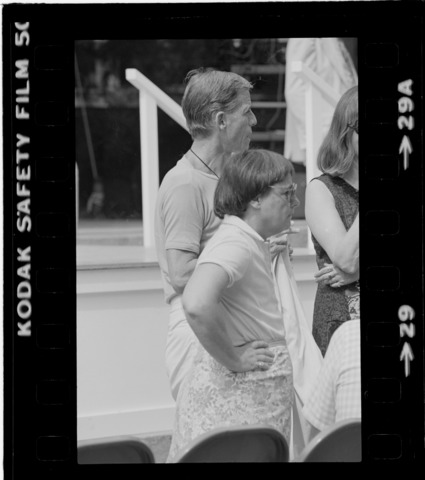 Photographs of Senior Class Exercises, 1980 May 24